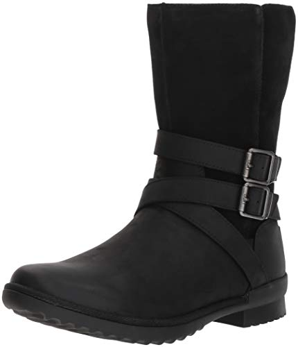 UGG Women's W Lorna Boot, Black, 9.5 M US