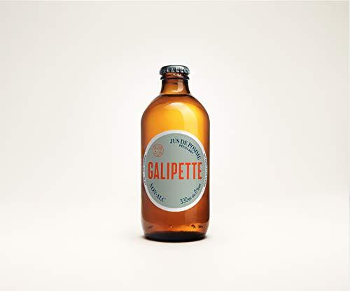 Galipette Cidre 0% - 24x 330 ml - alkoholfreier Apfelwein, Cider ohne Alkohol, süß-herber Apfelschaumwein, Sidre aus Frankreich, Most ohne Zuckerzusatz & Süßungsmittel, glutenfrei & vegan