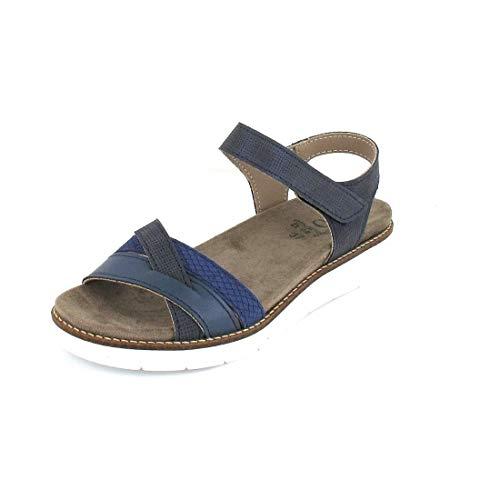 ACO Sandale Nora 03 Größe 38, Farbe: Blue 2302/1312/1072