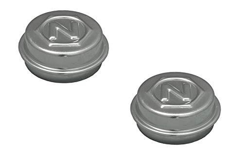 FKAnhängerteile 2 x Nieper Radkappe - Fettkappe - Staubkappe Ø 52 mm