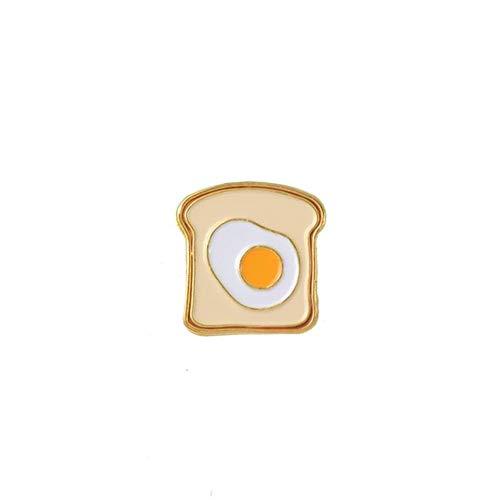 KAERMA Reizender Karikatur-Pins Kaktus Baum Toast Alpaka Katze im Kasten Alpaka Toast Corgi Pins Abzeichen Emaille Pins Revers Pin for Frauen-Mann Dekoratives Zubehör (Color : 1)