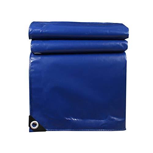 Tarp Blue, Paño para Cubrir El Almacén De Camiones Toldo De Lona De PVC Resistente A La Lluvia para Exteriores Plegable con Ojales 550 G/M²(Size:3×4M)