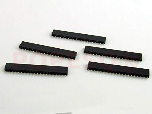POPESQ® 5 Stk. x Buchsenleiste 2.54mm 20 polig Arduino bauweise Gerade #A802