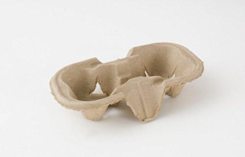 100 x 2 tazas de cartón biodegradable Papel/plástico...