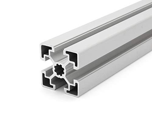 Perfil de aluminio 45 x 45 L, ranura tipo B 10, corte 50 mm-
