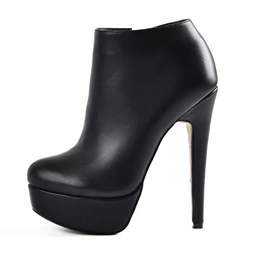 Only maker Botines de tobillo para mujer., color Negro, talla 41 EU