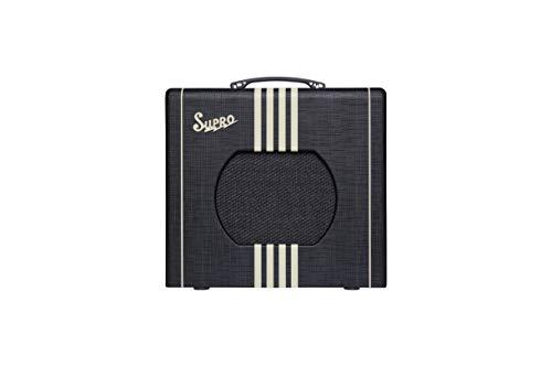 Supro Delta King 10 1x10-inch 5-watt Tube Combo Amp - Black and Cream