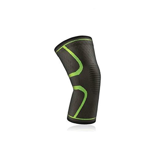 HUANGDANSEN Knee Pads 2-Piece Elastic Knee Pads Nylon Sports Fitness Knee Pads