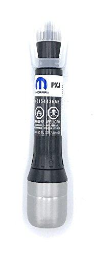 Mopar Lacquer Touch-up Paint (Prep+Paint+Clear) (Diamond Black Crystal P/C (PXJ))