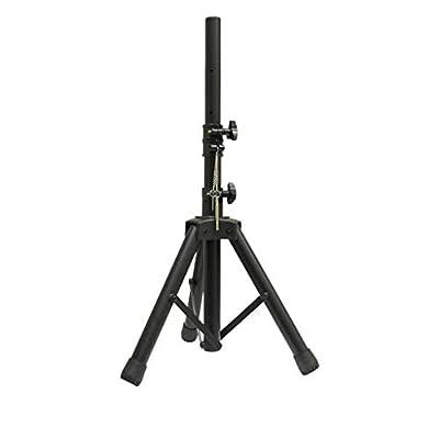 NJS 35 mm Short Adjustable Aluminium Black PA Speaker Stand by njs
