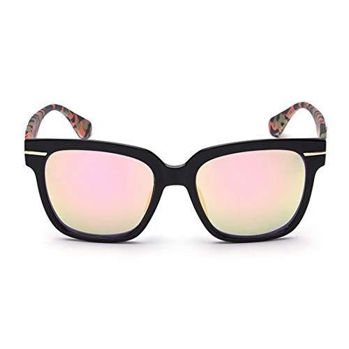 XIAOTANBAIHUO Anteojos Camuflaje Pierna de fotograma completo Gafas de sol retro para mujeres Hombres Protección UV para conducir al aire libre Gafas de sol de vacaciones Protección UV Gafas protector