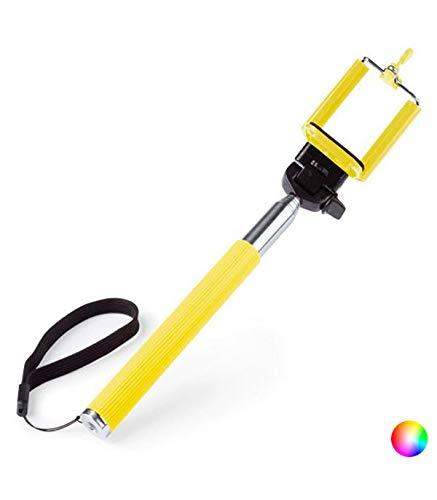 BigBuy Tech 144625 Palo Selfie Extensible, 3,5mm, Negro