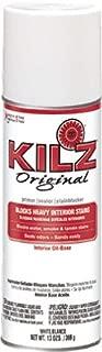 KILZ ORIGINAL 10009 Original Primer, Oil-Base Interior, 13-oz. Aerosol - Quantity 6