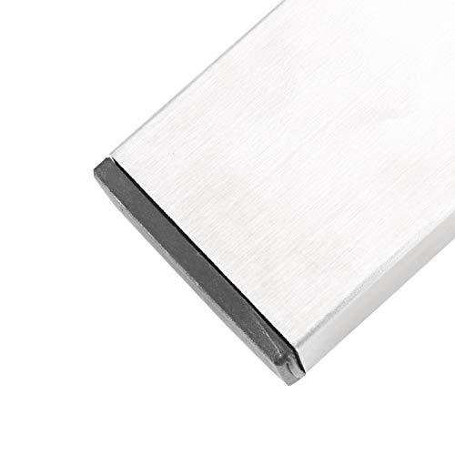 Estante para cuchillos, soporte para cuchillos de acero inoxidable antioxidante, organizador de cuchillos, se ve muy bien de alto grado para lavadero de cocina
