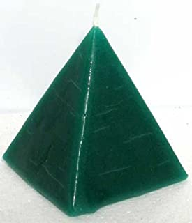 Sage Cauldron Money Drawing Scented Pyramid Candle