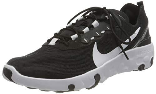 Nike Renew Element 55 Big Kids' SHO, Zapatillas para Correr Unisex Niños, Black/White/Anthracite, 36 EU