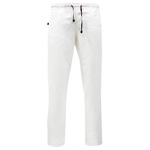 ROGER Pantalón Sanitario Unisex, 100% Microfibra Poliéster Repelente Agua Anti-Olor (Varias Tallas y Colores)