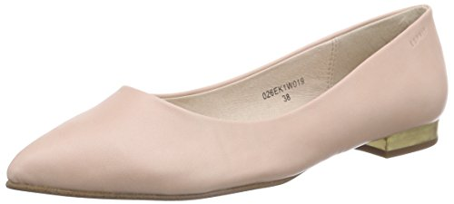 ESPRIT Damen Idris Ballerina Geschlossene Ballerinas, Pink (680 Old pink), 38