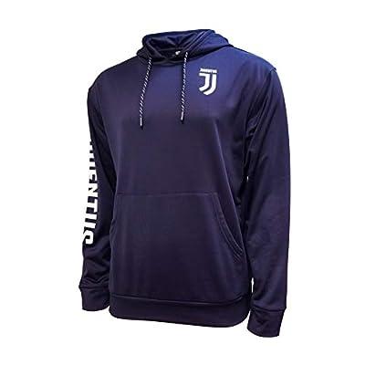 Icon Sports Mens Sleeve Mark Pullover Hoodie UEFA Champions League Soccer Juventus, Alternate 2, Medium