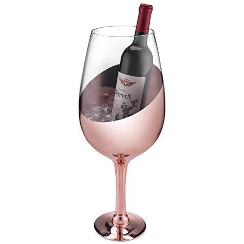 MyGift Weinglas/Champagner-Magnum-Kühler, 51 cm