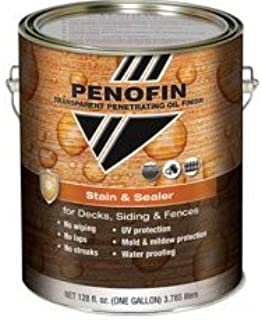 PenofinTransparent Penetrating Oil Finish Stain & Sealer 1 Gallon cedar