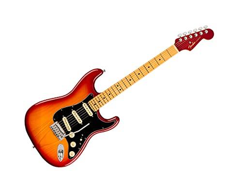 Fender American Ultra Luxe Stratocaster Plasma Red Burst
