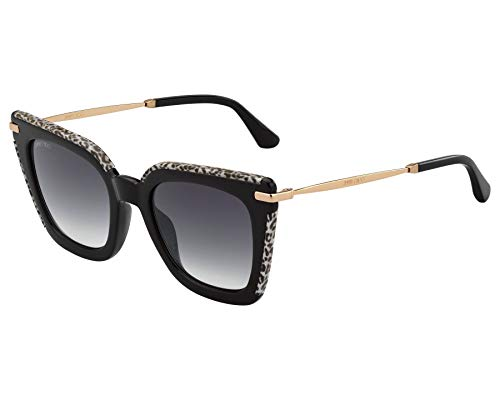 Gafas de Sol Jimmy Choo CIARA/G/S BLACK WHITE/DARK GREY SHADED 52/22/145 mujer