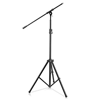 PYLE presents Heavy-Duty Microphone Stand PMKS56 with Clutch-In T-bar Adjustment