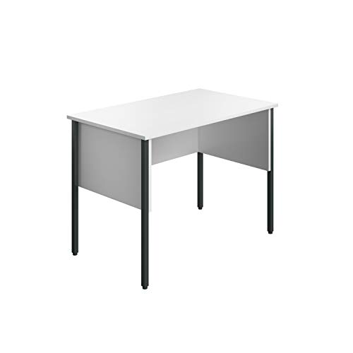 Office Hippo Schreibtisch für Zuhause, weiß, 100 x 60 x 72.6 cm