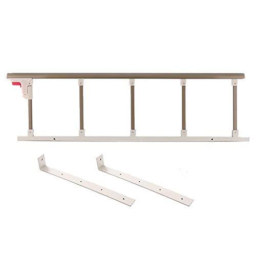 NYDZDM Oudere veiligheid nachtkastje, opklapbare bed assistent bar handvat medische levering ziekenhuis aluminium bed leuning