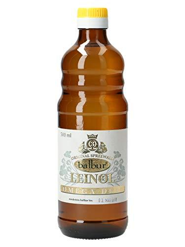 balbur-Leinöl aus dem Spreewald (500 ml)