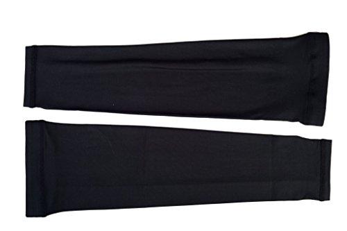 Tofern Manchette Cyclisme Couvre-bras Manchon de Compression Coudière Protection UV Respirant Séchage Rapide Léger Pour Vélo Course Basketball