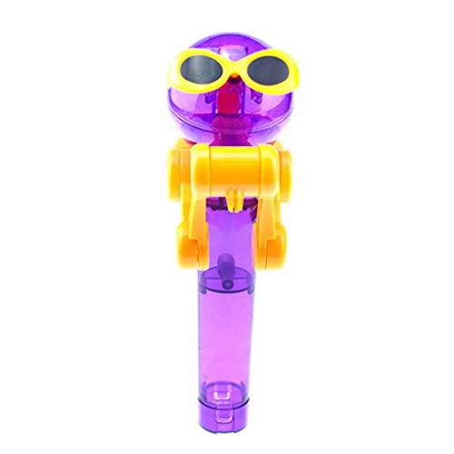 BANGNA Kreative Kinder Essen Lutscher Roboter Lutscher Candy Standhalter Lernspielzeug