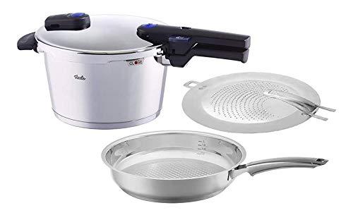 Fissler Pressure Cooker and Frypan, One Size, Steel
