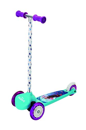 Smoby- Nuovo Monopattino Tre Ruote Twist Disney Frozen, 7600750228