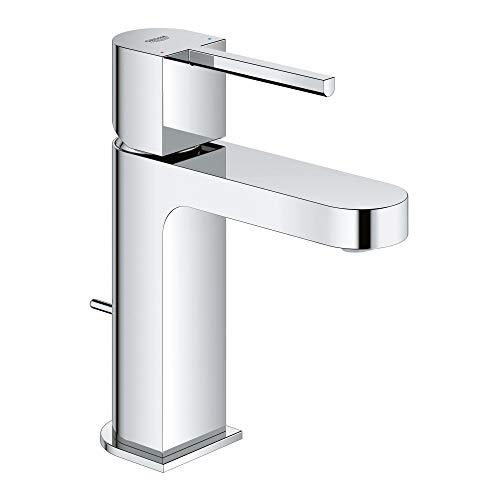 GROHE 33170003 Plus Single-Handle Bathroom Faucet S-Size, Starlight Chrome