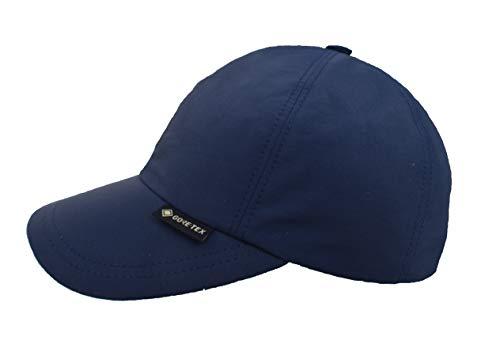 Wegener Berretto da baseball Gore-Tex e protezione UV in 100% poliestere, impermeabile e antivento, Blu, XXXL