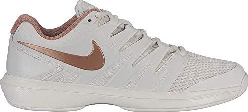 Nike W Air Zoom Prestige HC, Zapatillas de Tenis Mujer, Gris Phantom Mtlc Red Bronze Rose G 096, 42 2/3 EU