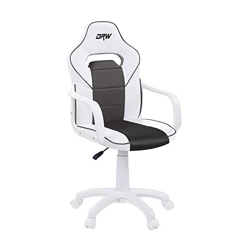 DRW, Sillon Gaming, Silla de Escritorio, Estudio o Despacho,