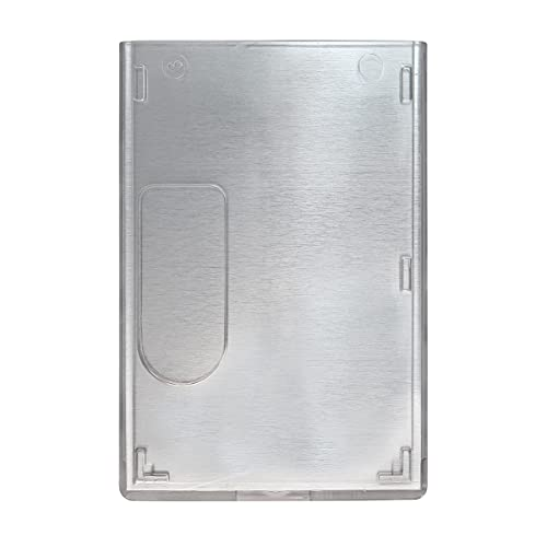RFID Blocking Rigid Shielded 2-Card Badge Holder (FIPS 201 Approved) by Specialist ID Sold Individually