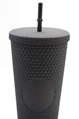Starbucks Tumbler thermobeker zwart studded 24oz 709ml
