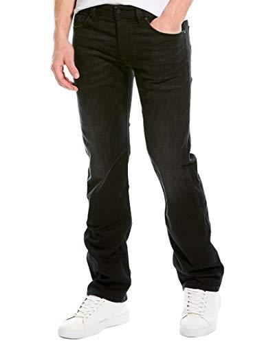 Diesel Herren Larkee Straight Jeans, Schwarz (02 Black Denim 069bg), W33/L36
