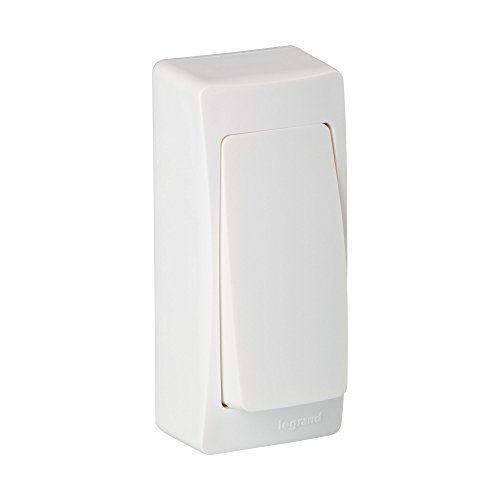 Legrand, 097341 Oteo - Interruptor pared, interruptor