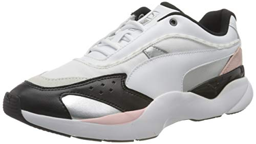 PUMA Damen Lia Fs WN's Sneaker, Weiß Schwarz, 39 EU