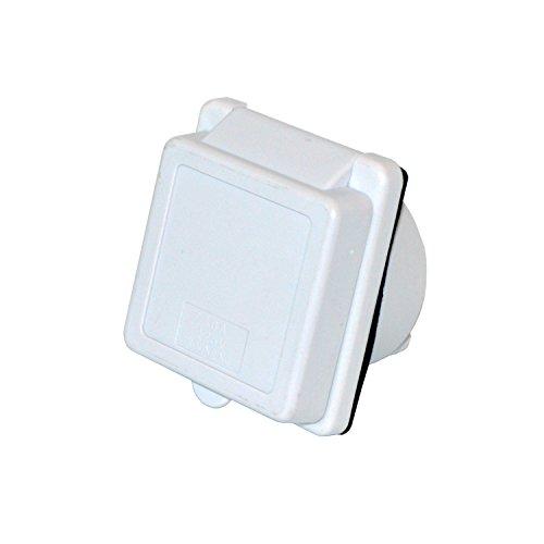 ALEKO 30AINWH White 30A RV Power Cord Twist Lock Inlet