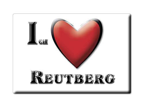 Enjoymagnets REUTBERG (by) Souvenir Deutschland Bayern Fridge Magnet KÜHLSCHRANK Magnet ICH Liebe I Love