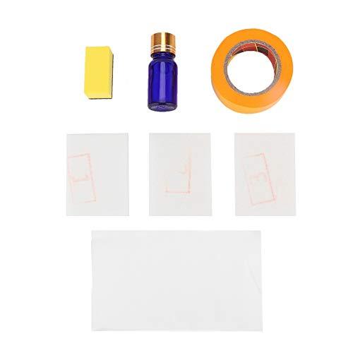 Duokon Koplamp Restauratie Kit, Auto Koplamp Lens Restauratie Kit Koplamp Vloeistof Polijsten Reiniging Reparatie Tool