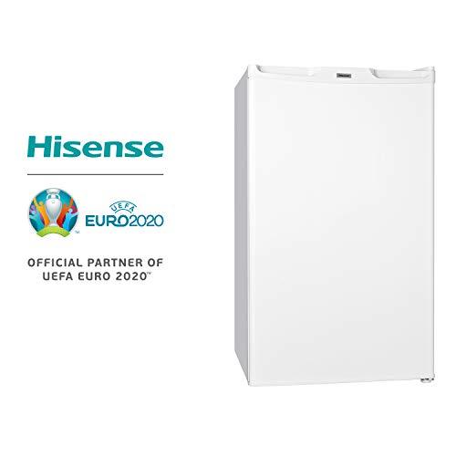 Hisense FV85D4BW1 Congelatore Sottotavolo Monoporta con 3 cassetti, Colore Bianco e Classe di Efficienza Energetica A+, Altezza 83,9 cm e Capacità Netta 65 L