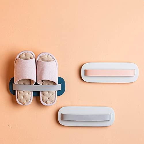 FTHH Organizador de Zapatos,Zapatero de Pared,No Perforadas,Zapatero Estante Colgante,Almacenamiento en Esquina,Ahorro de Espacio,a Prueba de Humedad e Impermeable