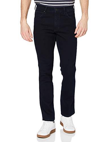Wrangler Herren Greensboro Regular Jeans, Blau, 48W/34L